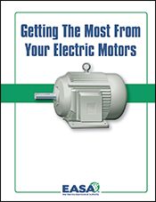 Getting The Most From Your Electric Motors - cover